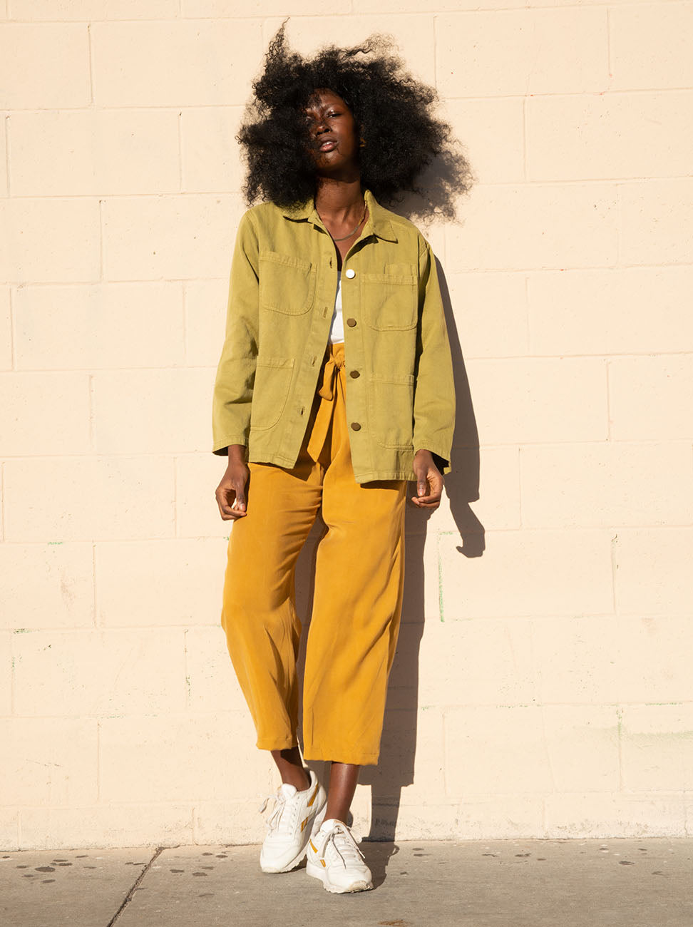 Avocado Hemp Utility Jacket