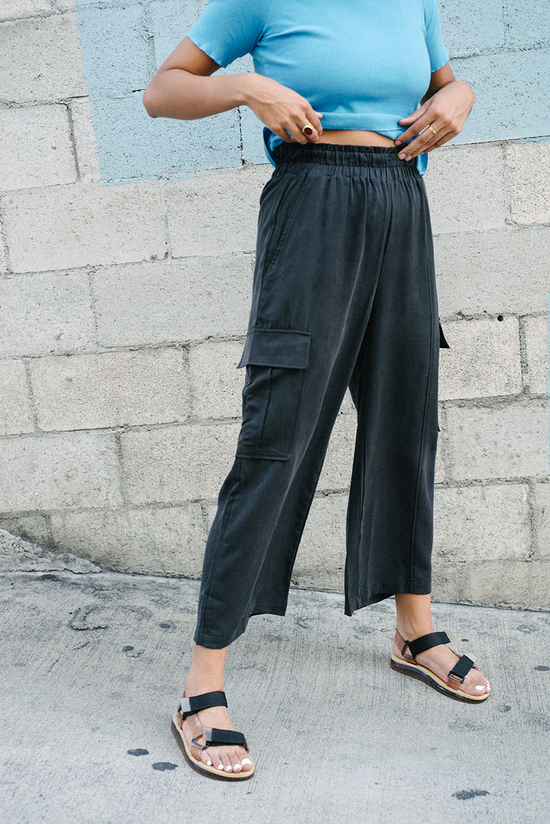 Tencel Lounge Cargo Pants