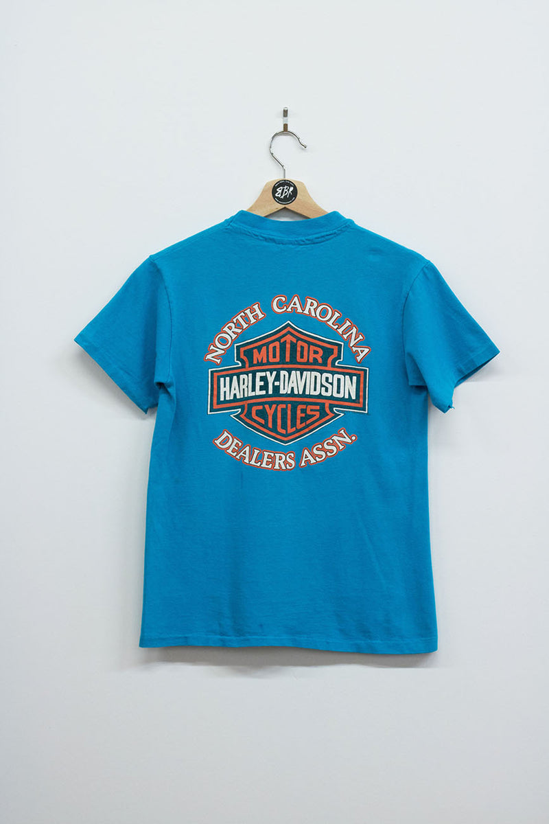 Vintage '91 Harley Davidson Beach Rally Tee - Back Beat Rags
