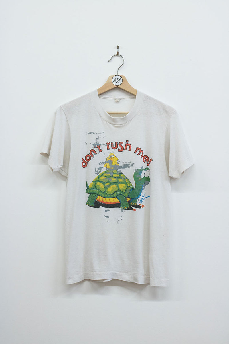 "Vintage ""Don't Rush Me"" Tee - Back Beat Rags"