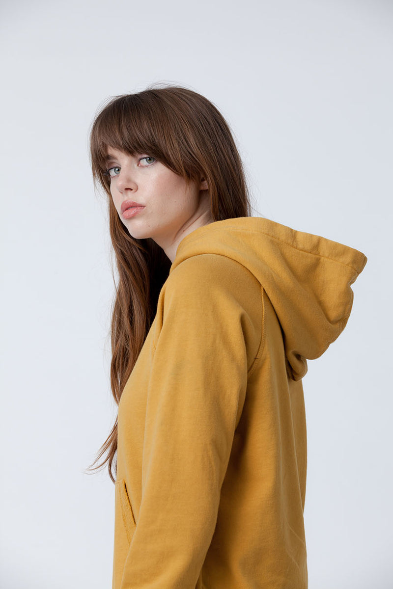 Golden Organic Cotton Hoodie - Back Beat Rags