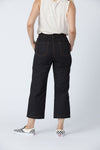 Organic cotton + Recycled Polyester Black Eco Twill Work Pants 2
