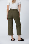 Organic cotton + Recycled Polyester Olive Eco Twill Work Pants 3
