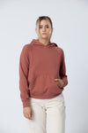Clay Organic Cotton Hoodie - Back Beat Rags