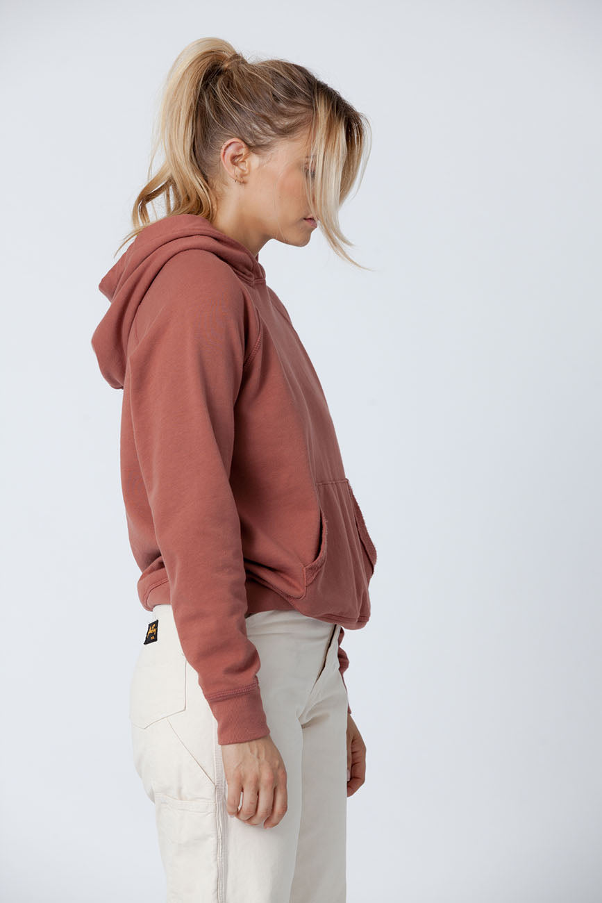 Clay Organic Cotton Hoodie