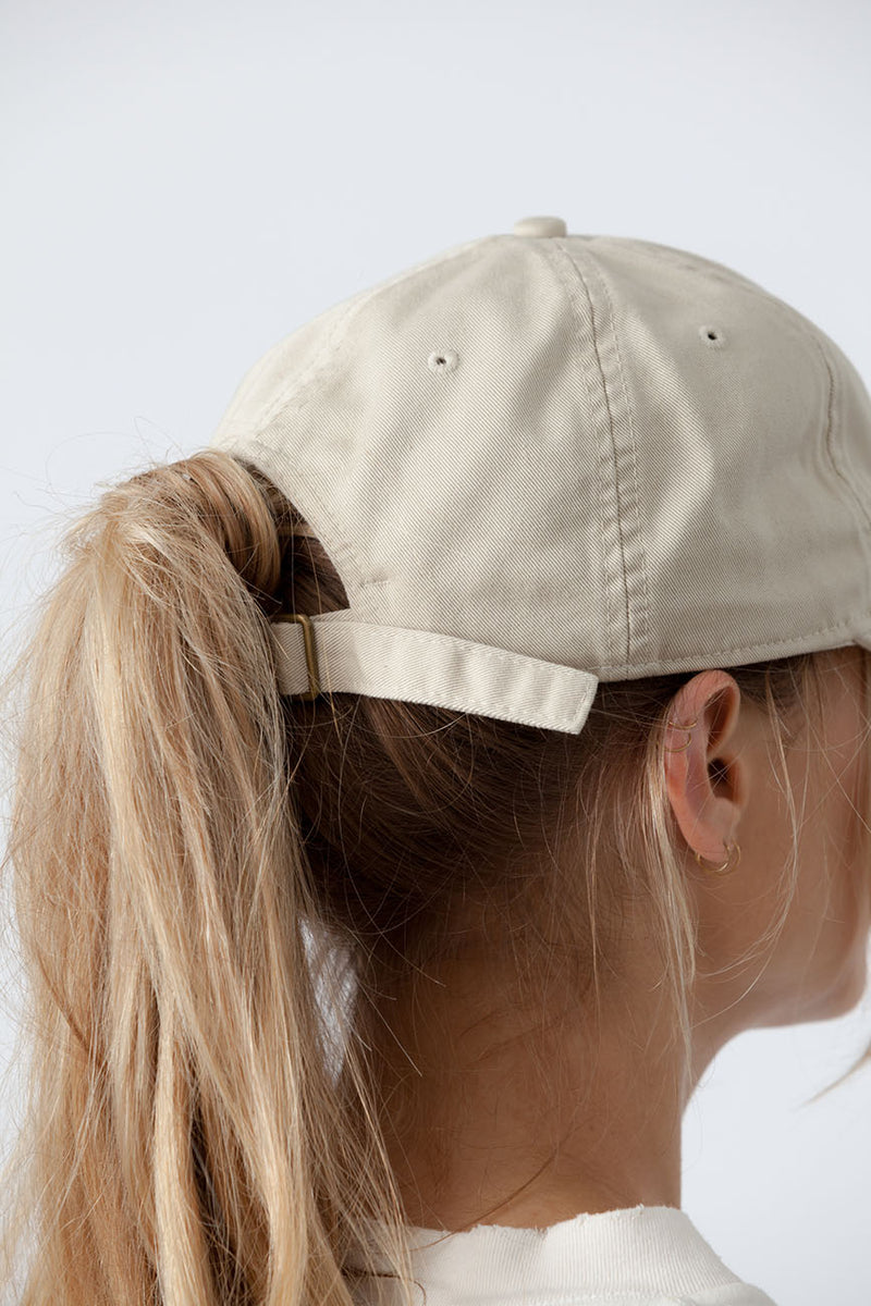 Cream Organic Cotton Hat 2