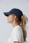 Blue Organic Cotton Hat 3