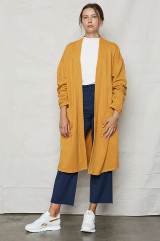 Ochre Tencel Easy Jacket