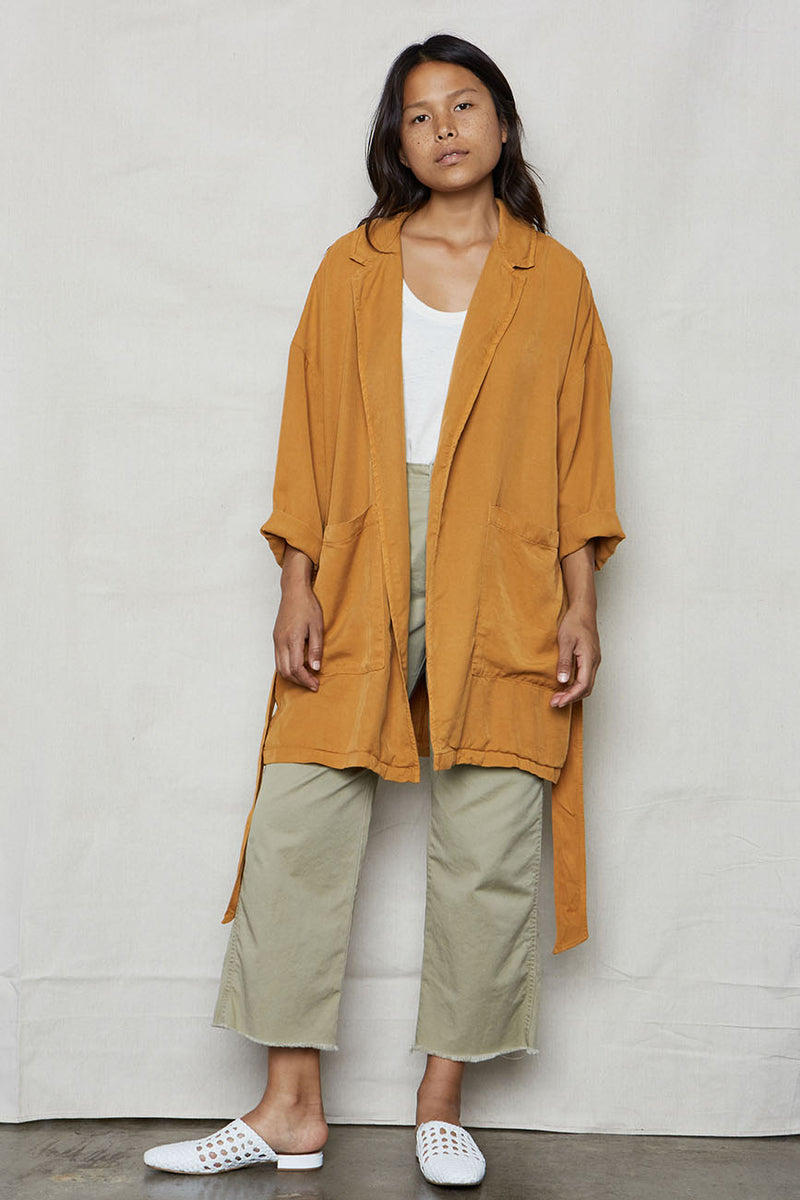 Ochre Tencel Easy Jacket - Back Beat Rags