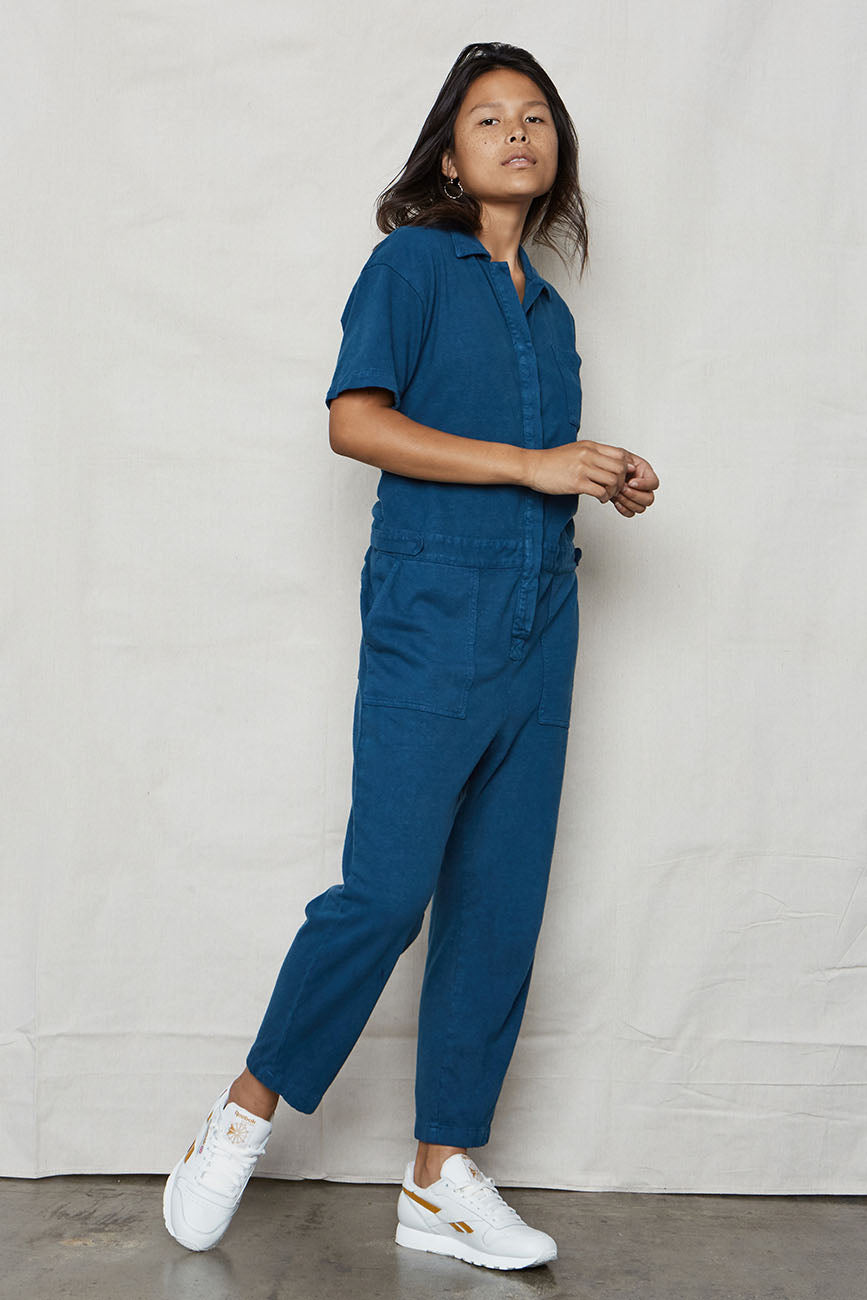 Ocean Hemp Boiler Suit - Back Beat Rags