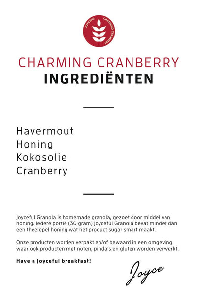 Charming Cranberry