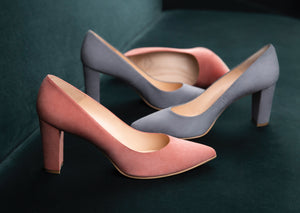 Marylebone Block Heel Pump