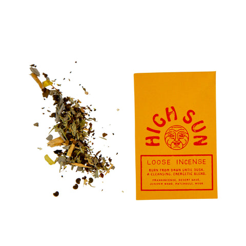 High Sun ~ Incense Blend