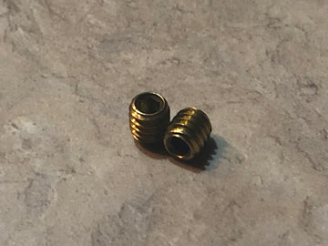 Replacement 8-32 Brass set screws - Herrington Arms