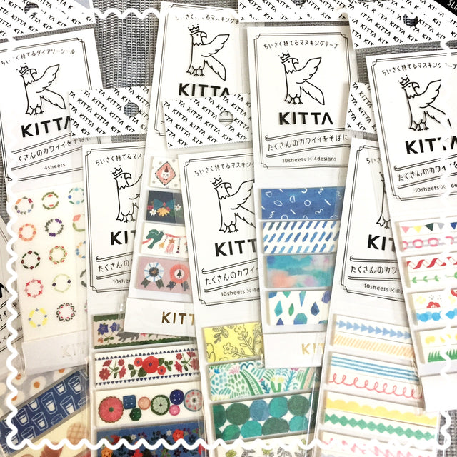 KITTA portable washi tape | Japanese washi tape
