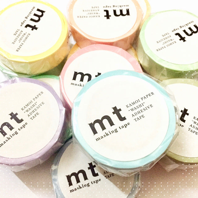 mt masking tape by Kamoi Japan