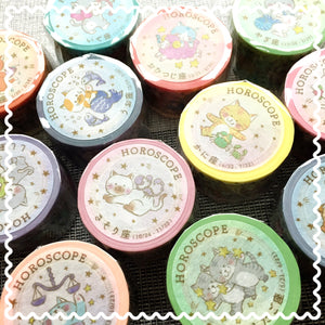 Round Top washi tape | Cute Japanese washi tape
