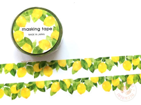 Mind Wave - Lemon die cut washi tape 94903