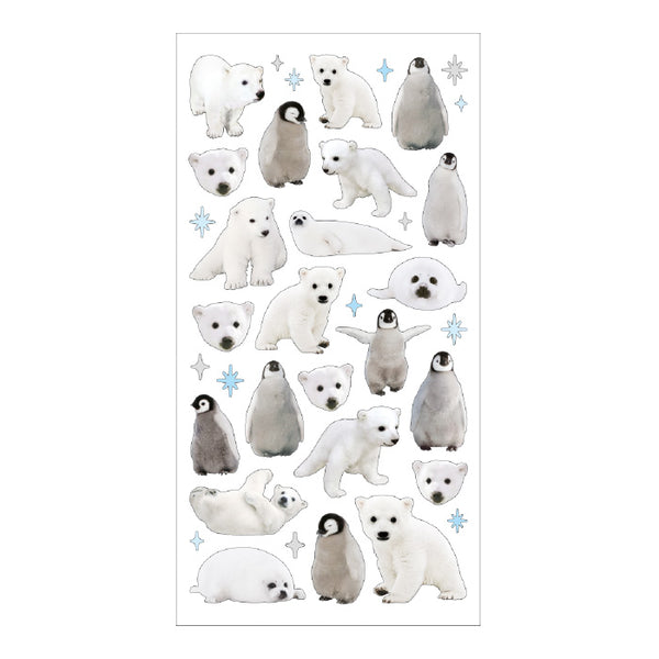 Mind Wave photo series - Polar animals sticker 11912