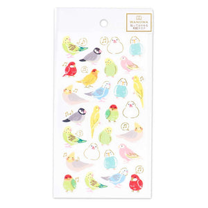 Wanowa gold foil washi sticker - Bird 1354101