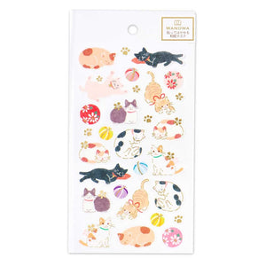 Wanowa gold foil washi sticker - Cat 1354102