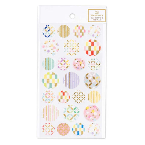 Wanowa gold foil washi sticker - Confetti 1354105