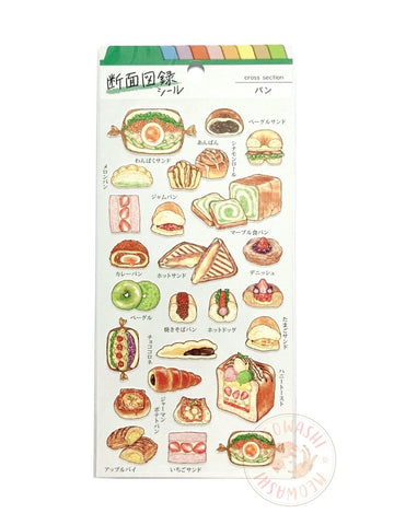 Mind Wave food cross section sticker - Bread 80638