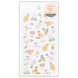 Yama Life gold foil sticker - Fox 2614103