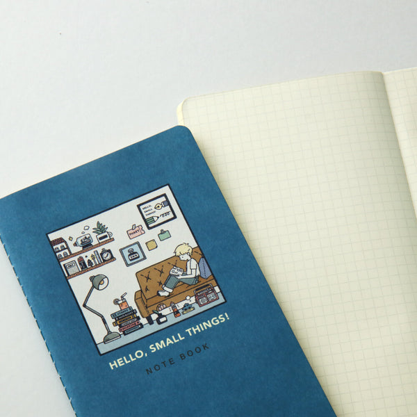Papier Platz Eric small things grid notebook 37-325
