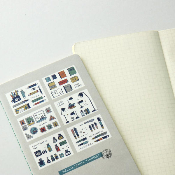 Papier Platz Eric small things grid notebook 37-328