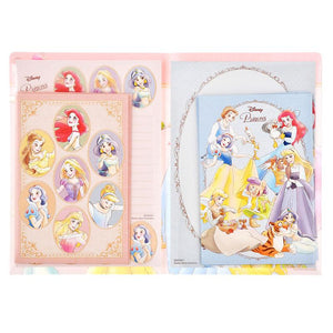 Disney princess letter set with plastic folder