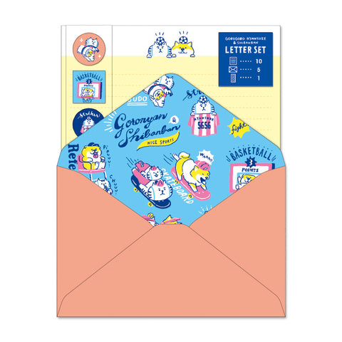 Mind Wave GOROGORO NYANSUKE and Shibanban letter set - Nice sports 56899