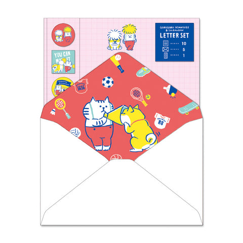 Mind Wave GOROGORO NYANSUKE and Shibanban letter set - You can make it 56900