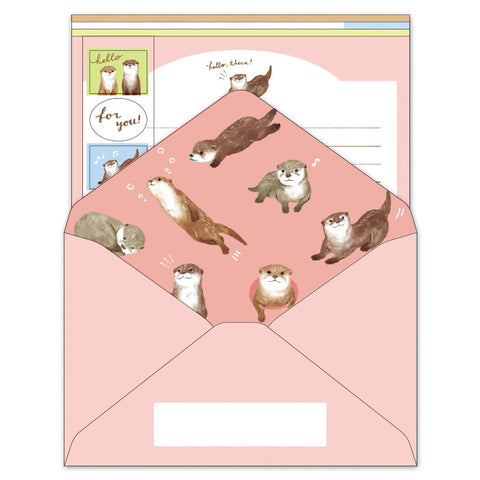 Mind Wave - Otter life letter set 57183