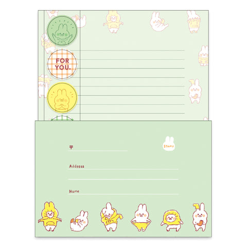 Mind Wave - Muu-chan letter set (57439)