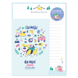 Mind Wave - Go out with Shibanban letter set 57691