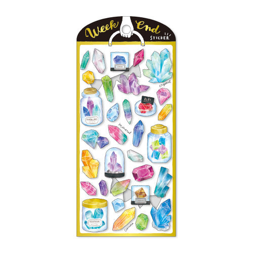 Mind Wave weekend sticker - Crystals 79506
