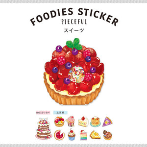 Mind Wave foodie sticker flakes - Sweets