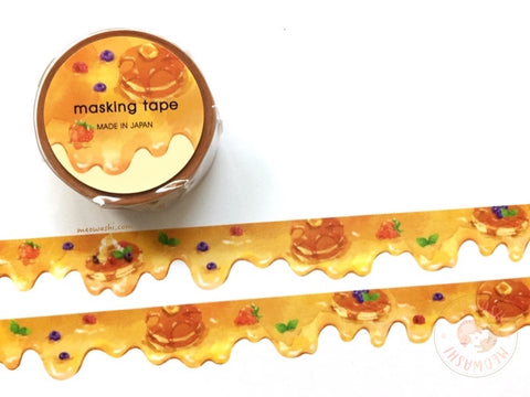Mind Wave - Maple syrup die cut washi tape 94900