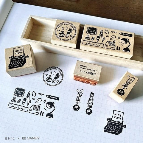 Eric small things x SANBY stamp set - Vol 1 CLBS-ER