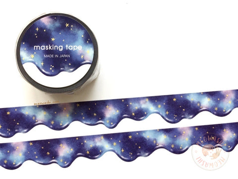 Mind Wave - Starry sky die cut washi tape 94899