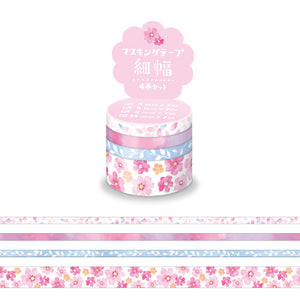 Mind Wave - Pink flower washi tape set 94906