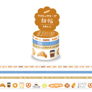 Mind Wave - Bakery washi tape set 94911