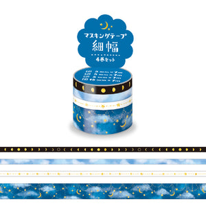 Mind Wave - Starry sky washi tape set 94912