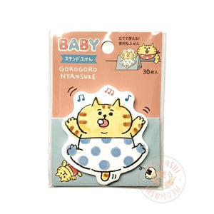 Mind Wave stand stick marker - Baby Gorogoro Nyansuke sticky notes 57660