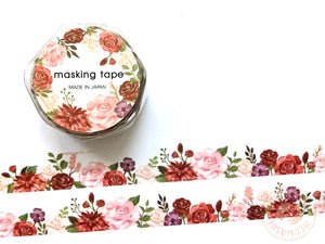 Mind Wave - Rose die cut washi tape 94902