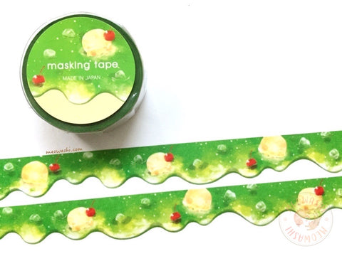 Mind Wave - Melon cream soda die cut washi tape 94901