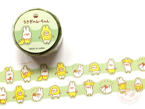 Mind Wave Muu-chan die cut washi tape - Dressing up 94927