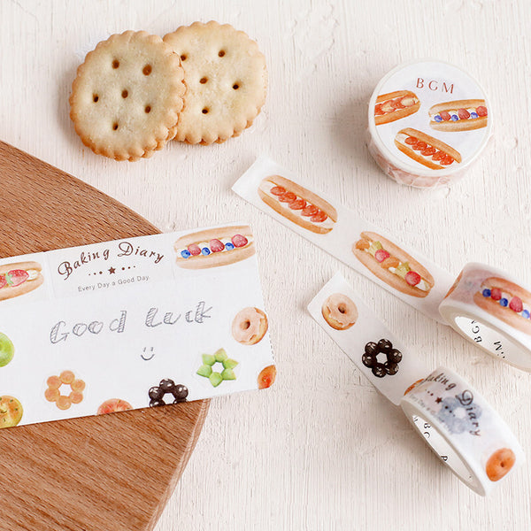 BGM coppe pan washi tape