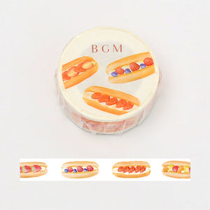BGM coppe pan washi tape BM-LA055